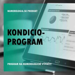 produkt Kondicio-program