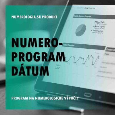 produkt Numero-program Dátum