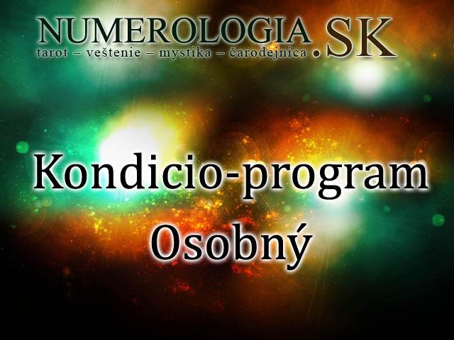 produkt Kondicio-program Osobný
