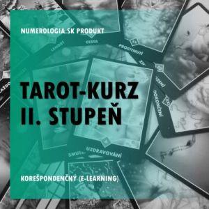 produkt Tarot-kurz II. stupeň korešpondenčný