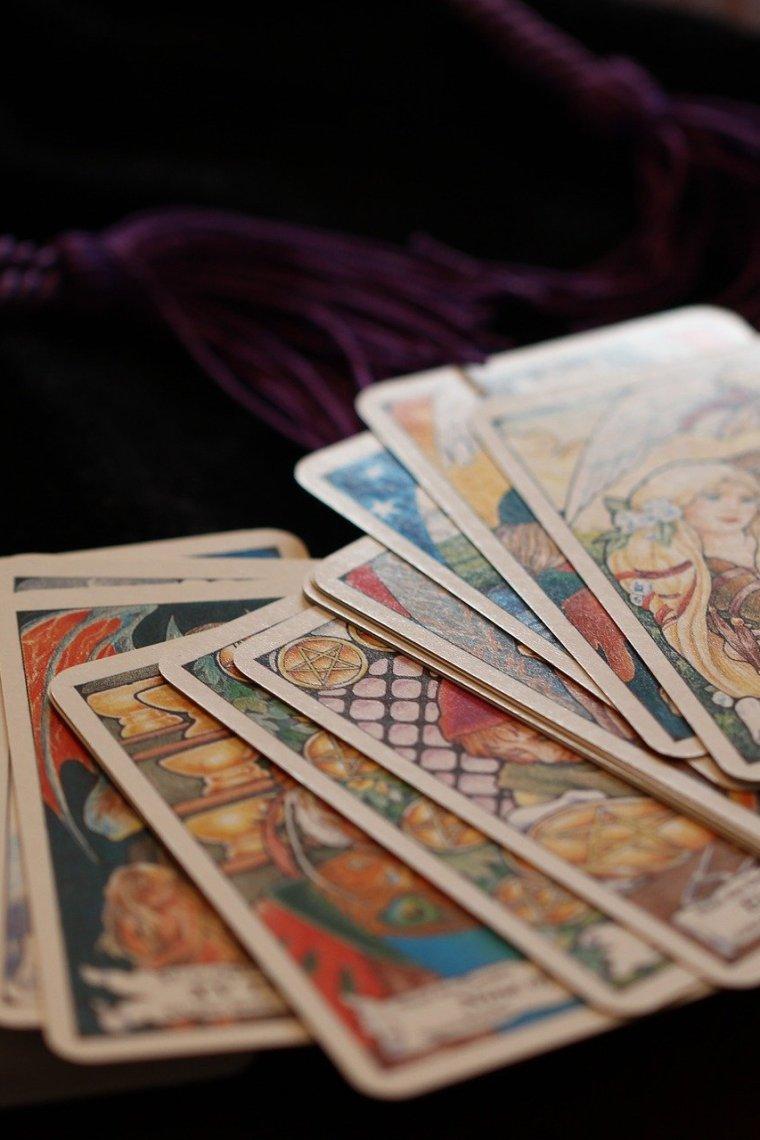 tarotové karty
