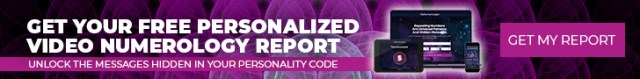 Get Your Free Personalized Video Numerology Report Banner