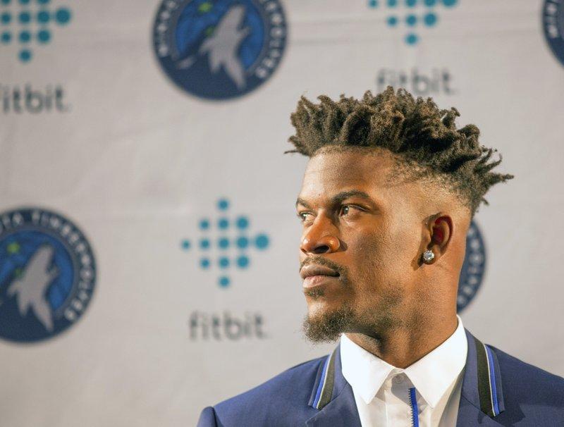 Jimmy Butler, protagonista di questa sessione di mercato NBA