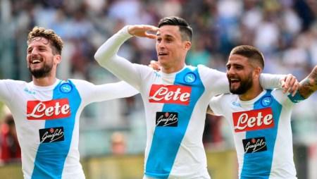Dopo l'infortunio di Milik il Napoli continuerà ad affidarsi alla classe e alla tenacia di Insigne, Mertens e Callejon | numerosette.eu