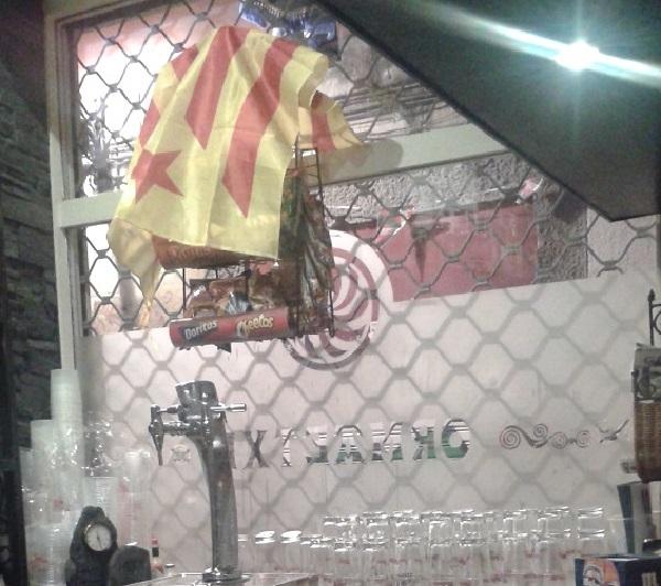 bandiere catalane a Bilbao   numerosette.eu