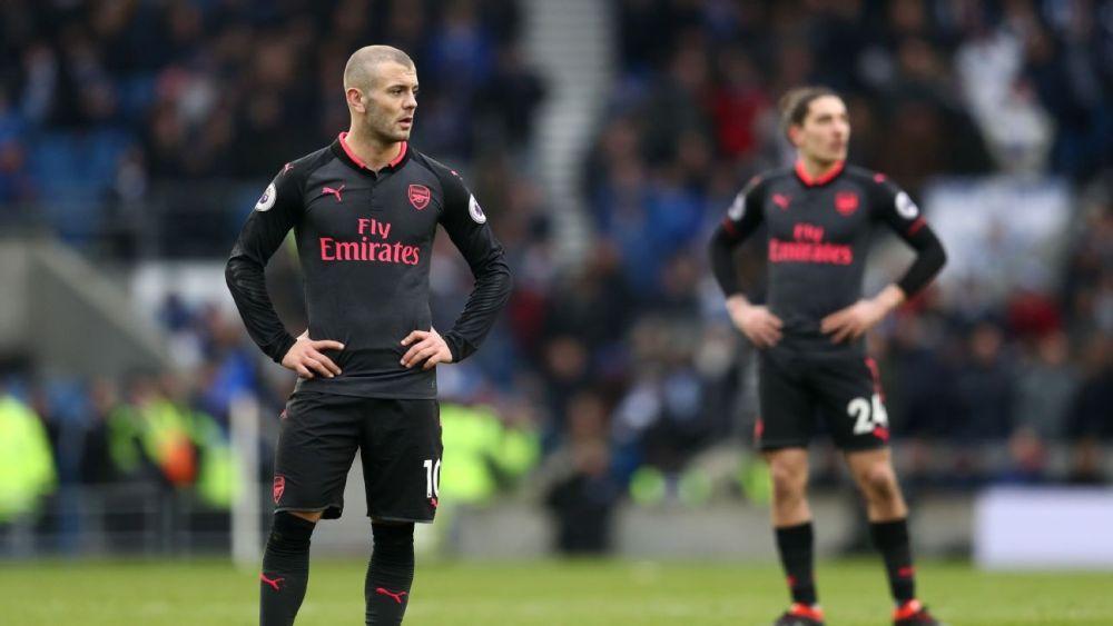 Arsenal sconsolato e sconfitto a Brighton   numerosette.eu