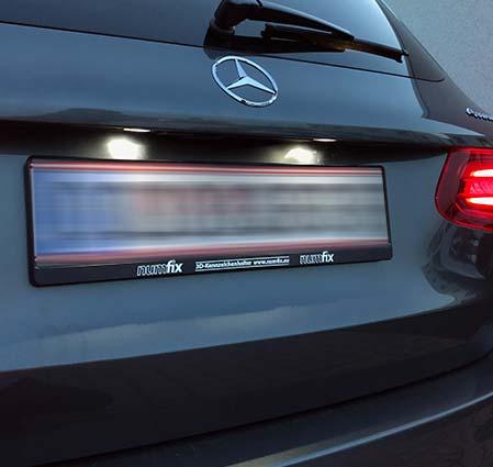 Kennzeichenhalter Mercedes