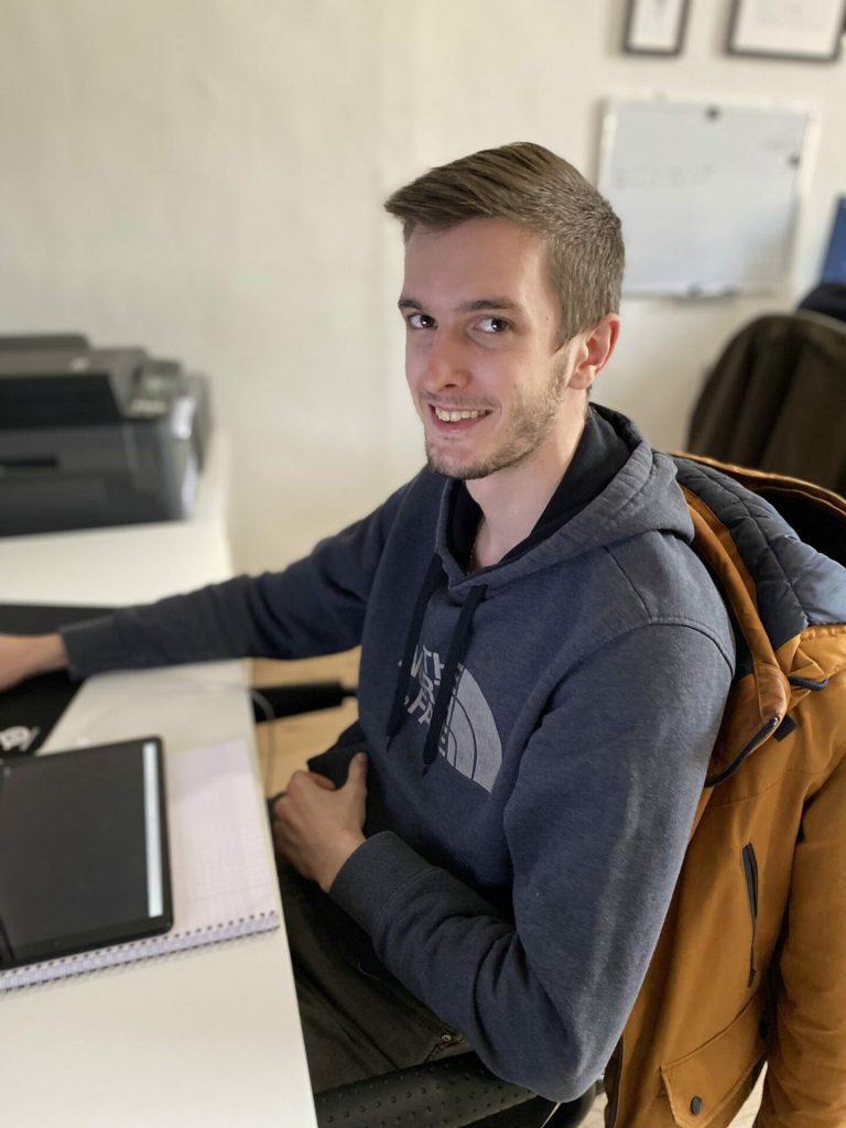 Maxence Feyrrera développeur web