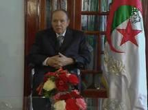 Le président de la république Algérienne