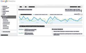 Google Analytics w/ Conversion Rate Image