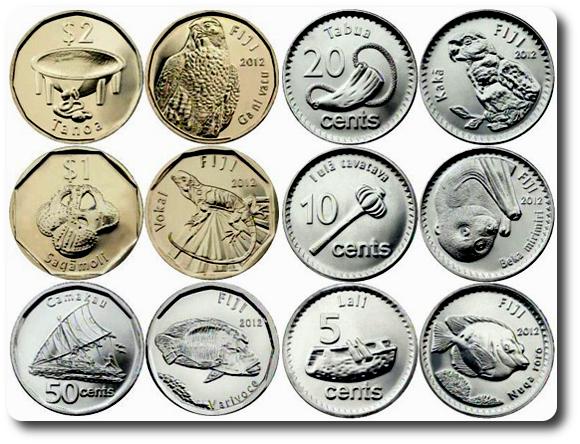 nueva serie monedas fiji