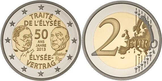 2 euros cc francia 2013
