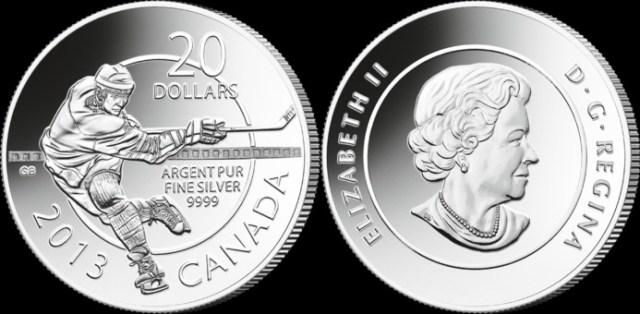 20 dolares plata Canada 2013