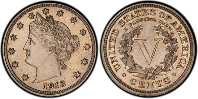 5 centavos Estados Unidos 1913