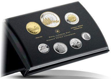Estuche monedas plata canada 2013