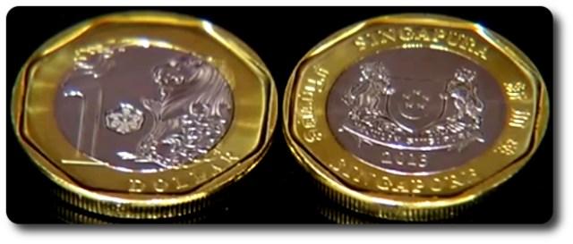 1 dolar singapur