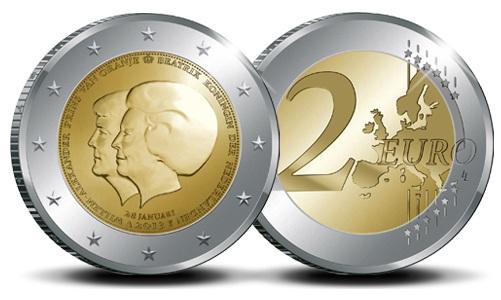 2 euros conmemorativo Holanda 2013