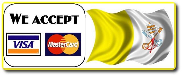 tarjeta credito Vaticano