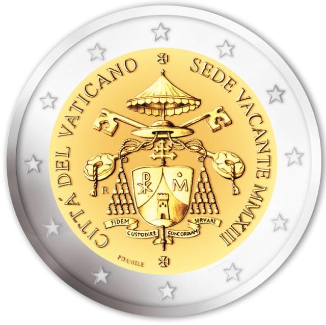2 euro Sede Vacante