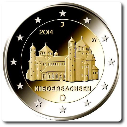2 euros alemania 2014