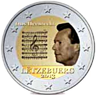2 euro luxemburgo 2013