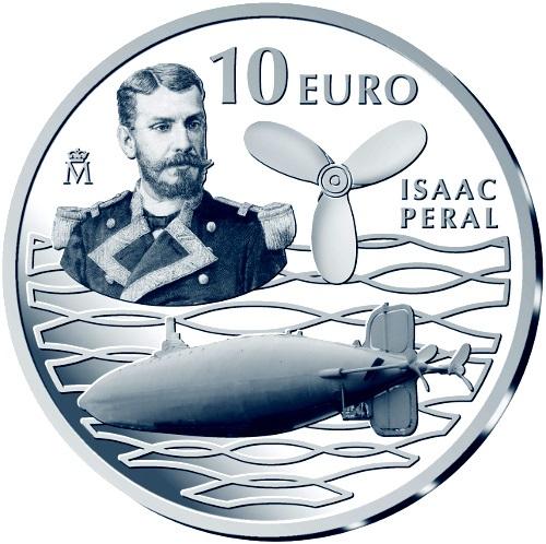 10 euro Isaac Peral