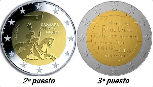 2 euro eslovenia 2104 2 y 3