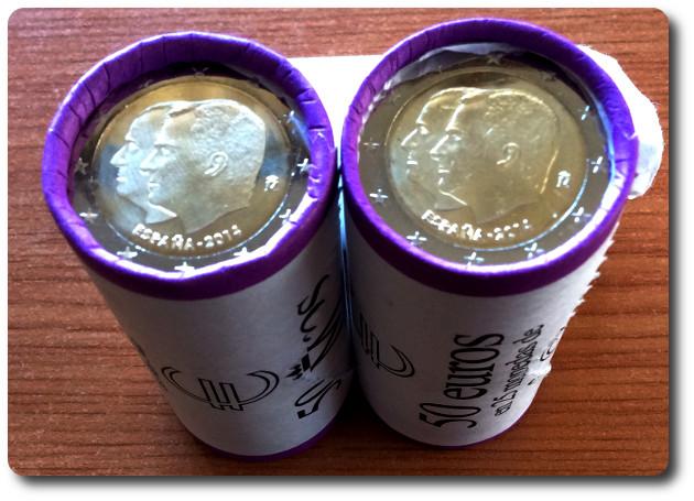 Emitidas monedas 2 y 30 cc 2014 proclamaci n felipe vi for Sucursales banco espana