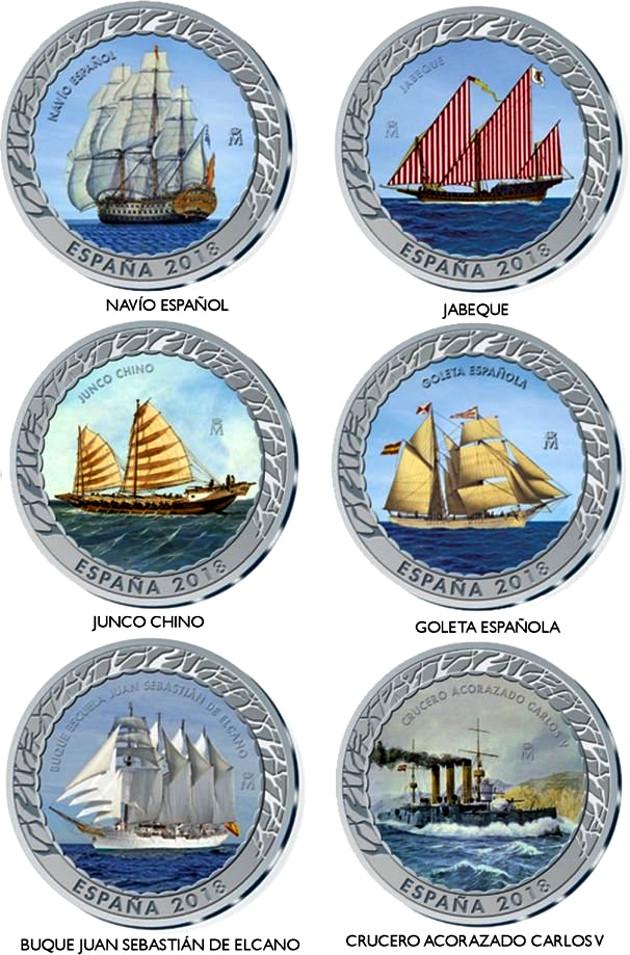 Acuñación y puesta en circulación de monedas de colección B4