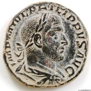 Philippe I Sesterce revers FELICITAS TEMP