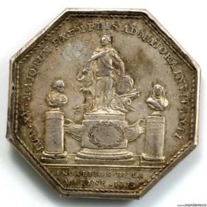 Jeton invalides de la marine 1773