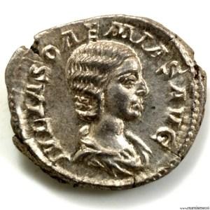 Soemias mère d'Elagabale denier