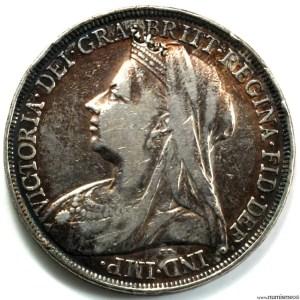 Grande Bretagne Crown 1895