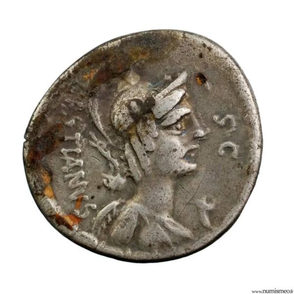 Plaetoria denier frappé en 67 avJC