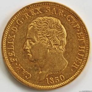 Italie 80 lire 1830 Turin