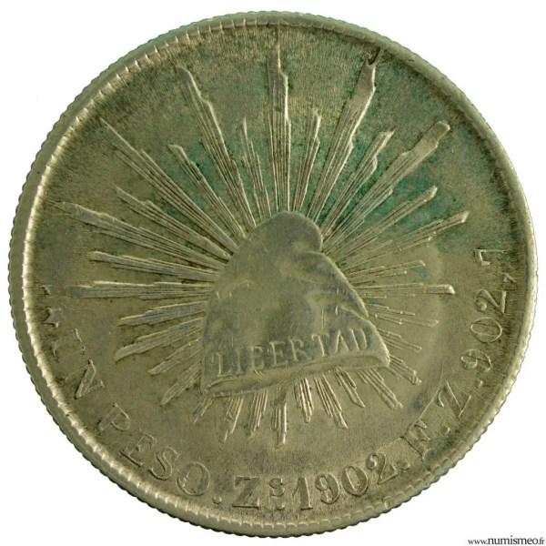 Mexique Peso 1902 ZS