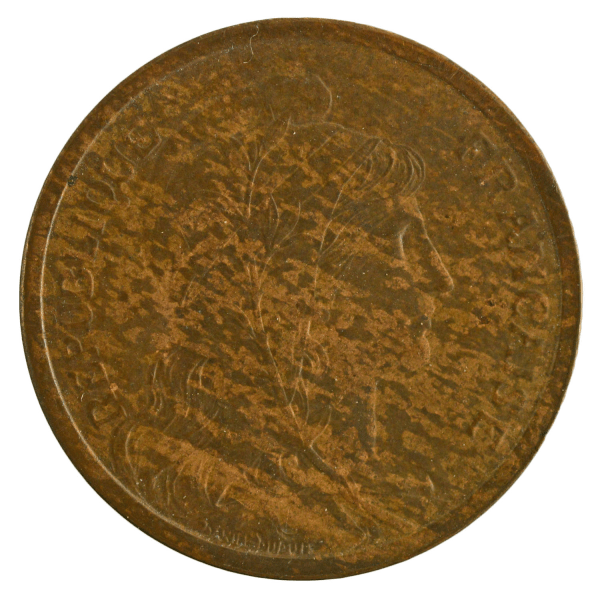 Third Republic 2 centimes 1904