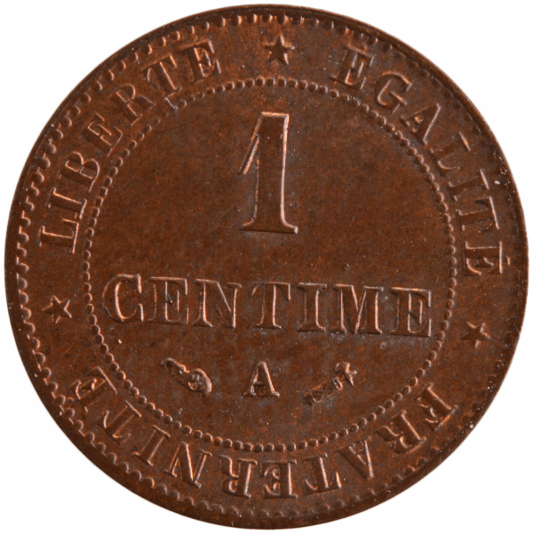 III République 1 centime 1888 Paris