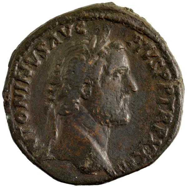 Antonin le Pieux sesterce