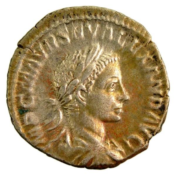 Severus Alexander Denarius Rome 222