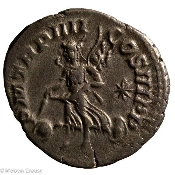 Elagabalus Denarius Rome 221