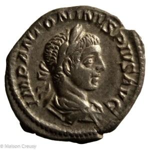 Elagabalus Denarius Rome 219