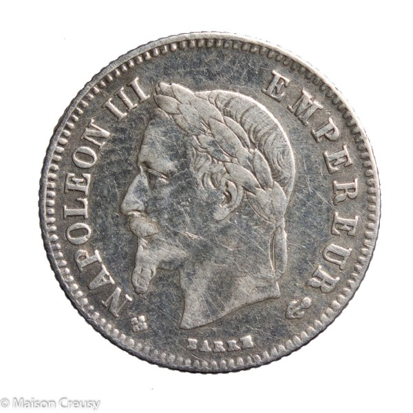 NapIII-20cents1864BB