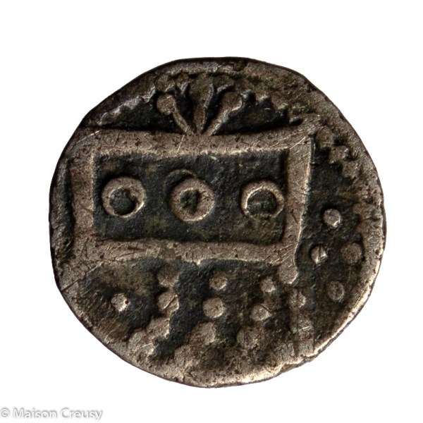 LOW COUNTRIES Vlaanderen (Flanders) Anonymous coinage AR denier Gand (Ghent) mint