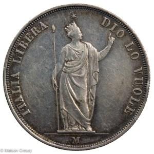 Lombardie5lire1848-Mont427-1