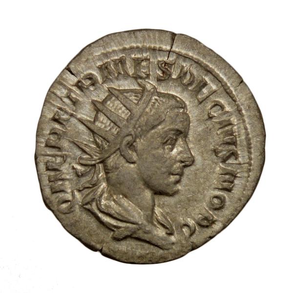 Herennius Etruscus AR Antoninianus Rome 250-251
