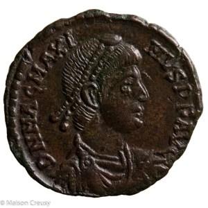 Magnus Maximus AE maiorina Arles 383-386