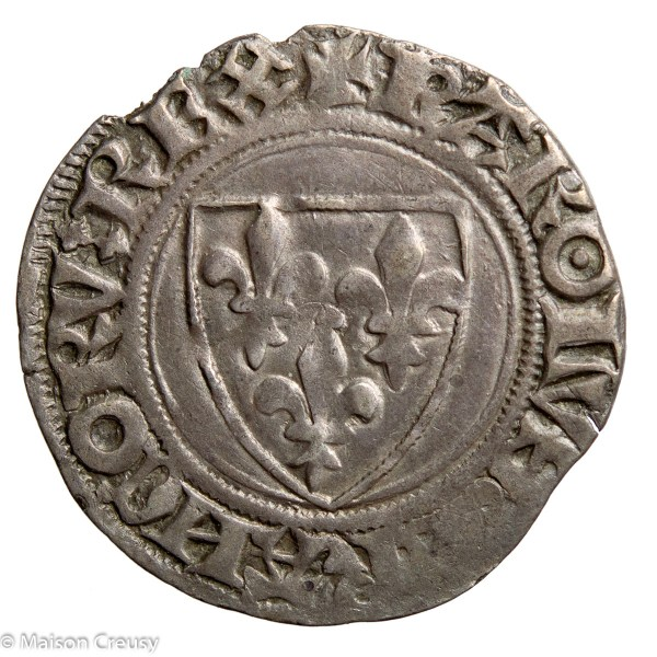 Charles VI Guenar struck in Sainte Menehould