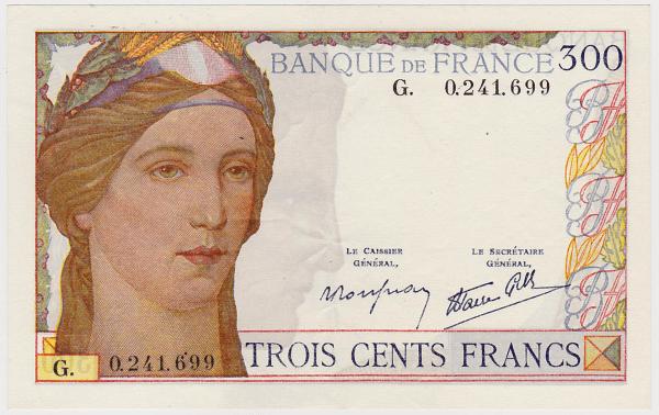 300 francs