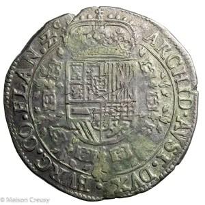 Flanders Charles II Patagon 1671 Bruges
